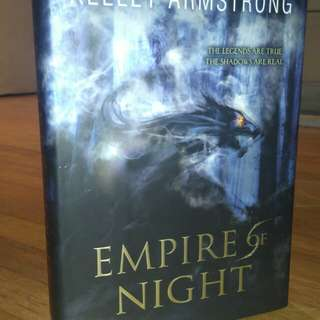 Empire of night (hard bond)