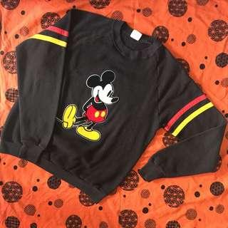 古著 USA Disney Micky Mouse Vintage Sweater