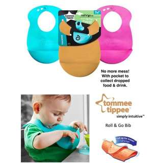 New Tommy tippee silicon Bibs