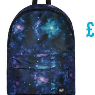 Primark galaxy bag pack