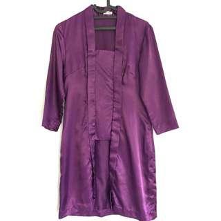 Kebaya Kutubaru Purple