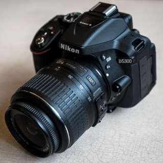 Nikon D5300 KIT AFP 18-55mm - Cicilan tanpa CC