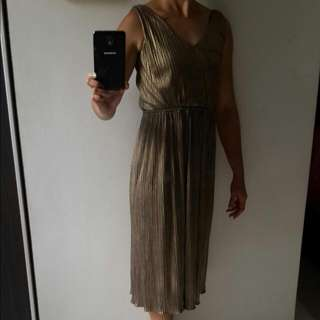 Gold Dress - Incl.postage