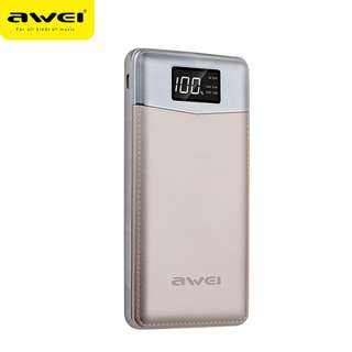 ⭐Awei 10000mAh Portable Quick Charge Power Bank with Strong Flashlight ⭐