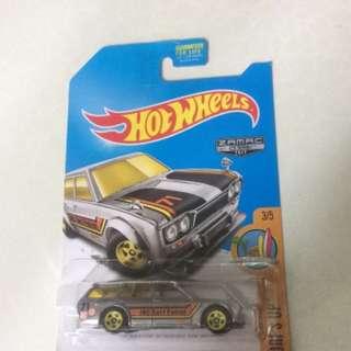 Hotwheels 71 Datsun wagon zamac