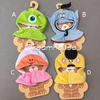 東京迪士尼 大眼仔 阿拉丁神燈 牡蠣寶寶 蛋頭 變裝衣服 服飾 造型衣服