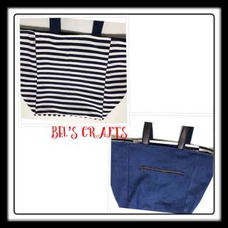 Reversible tote bag (large)