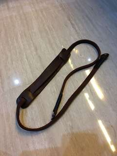Mirrorless camera strap / neck strap kulit