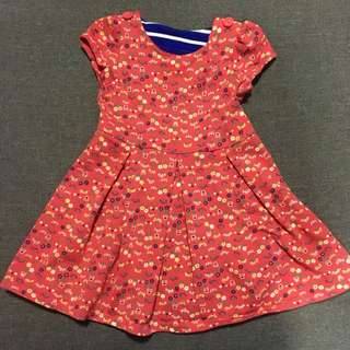 Mothercare red dress