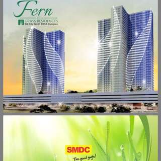 GRASS/ FERN residences By SM just beside SM north edsa