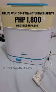 Philips Avent Steam Sterilizer Express