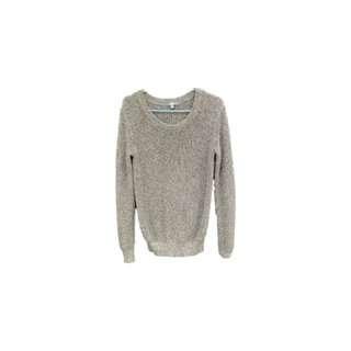🚚 Uniquo 灰色針織毛衣
