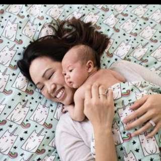 Caticorn Cuddle Me Tula Blanket
