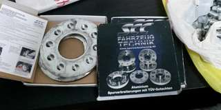 Hub centric wheel spacers for Alfa Romeo