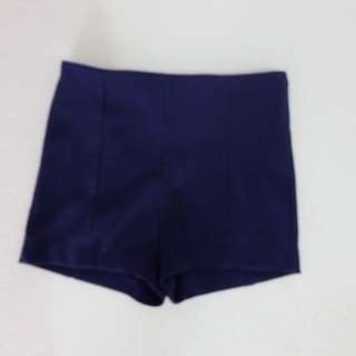 Short pants blue