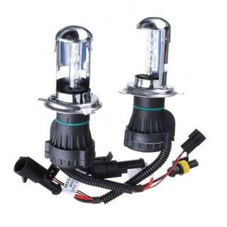H4 hid headlight set