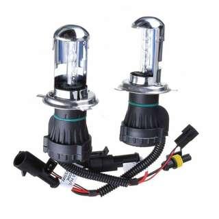 H4 hid headlight set