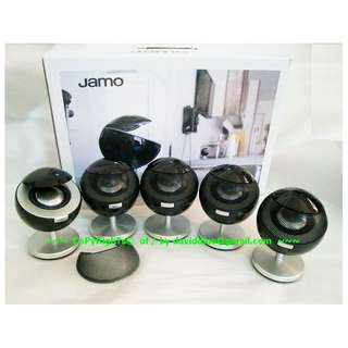 ~~~ MinT ConD  Jamo 360 S 25 SateLIte SPeaKerS SySTeM with WaRRanTy $488~~~