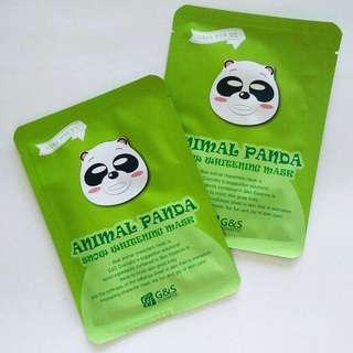 CHARACTER MASK: Panda Snow Whitening Mask