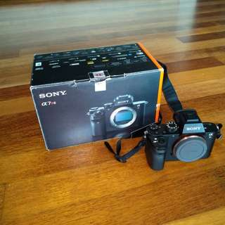 Sony A7Rii like new with warranty (aka A7 series A7R mark 2/ii)