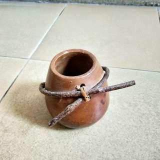 Clay pot display