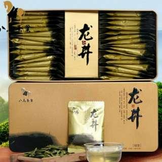 八馬龍井茶(原價499人民幣)                                     超豪金屬禮盒装, 4g x 32小包