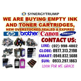 HIGHEST PRICE BUYER OF EMPTY INK & TONER CARTRIDGES
