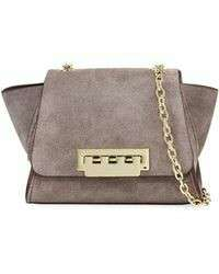 ZAC Zac Posen Eartha Iconic Mini Chain Suede Crossbody Bag