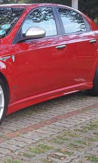 Alfa 159 Ti side skirts