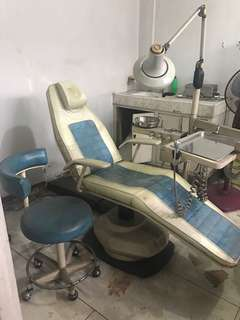 Old dental chair