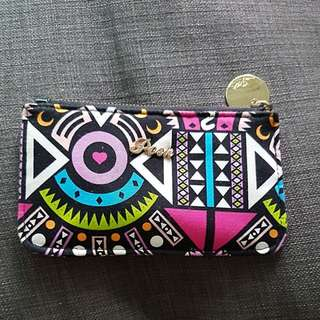 Posh colourful pouch wallet coin bag