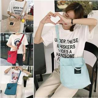 sling bag, woman bag, dots bag, song hye kyo bag, shoulder bag, ulzzang bag