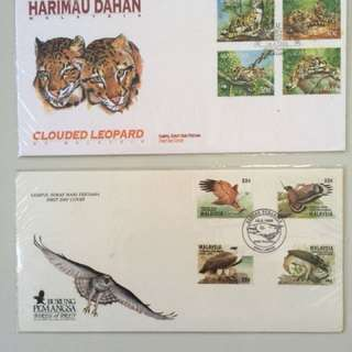 Malaysia 1990 Series first day cover stamp