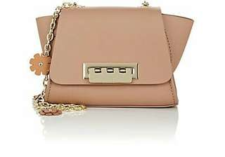 ZAC Zac Posen Eartha Iconic Leather Mini Crossbody Bag