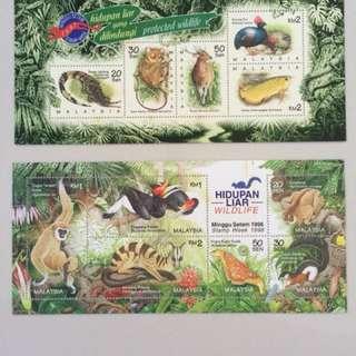 Malaysia 1990 Series stamp week