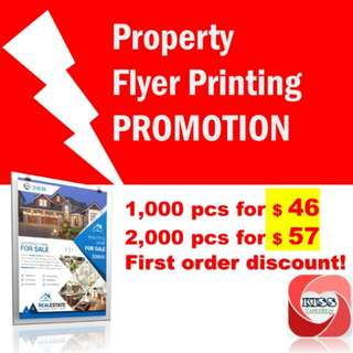 PROPERTY FLYER PRINTING