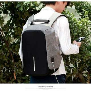 Anti theft and phone charger bag