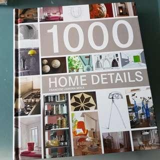 Hardback 1000 Home Details by Francesc Zamora Mola
