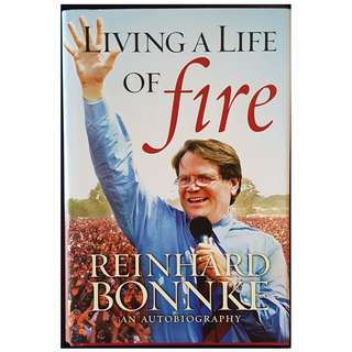 Living a Life of Fire (Hard cover)