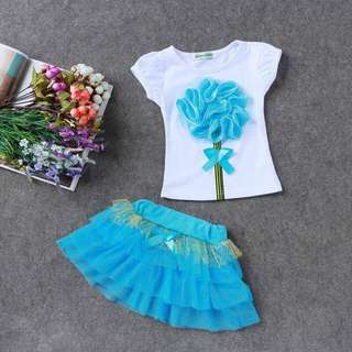 Princess t-shirt Tutu pair