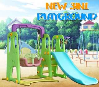 NEW 3 IN 1 PLAYGROUND