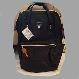 Inspired Black Anello bag/ backpack