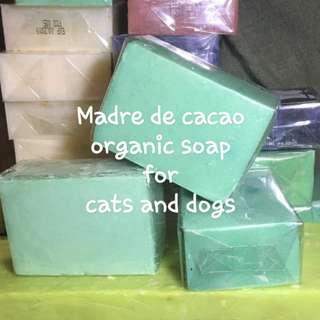 organic dog and cat soap