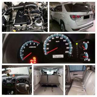 Toyota Fortuner AT thn. 2012