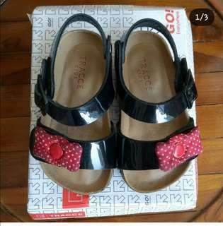 Tracce kids sepatu sandal size 24