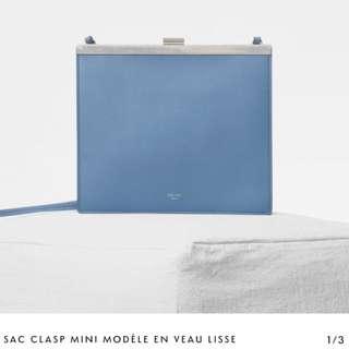 CELINE Clasp mini bag