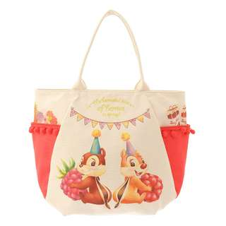 Japan Disneystore Disney Store Hello Chip and Dale Tote Bag Large Preorder