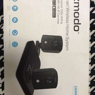 Zmodo 2xwifi HD IP cam -500GB
