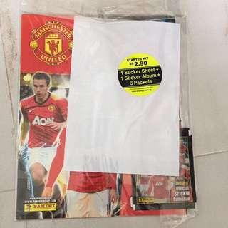 Manchester United Sticker album