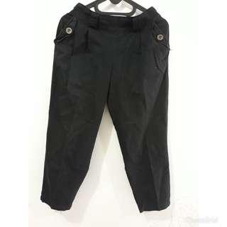 7/8 black pants